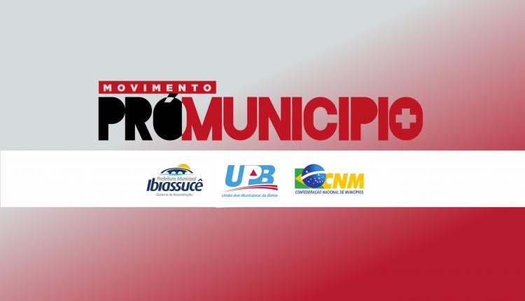 Prefeitura fará Paralisação nesta quinta-feira (26) em prol de movimento Pró-Município
