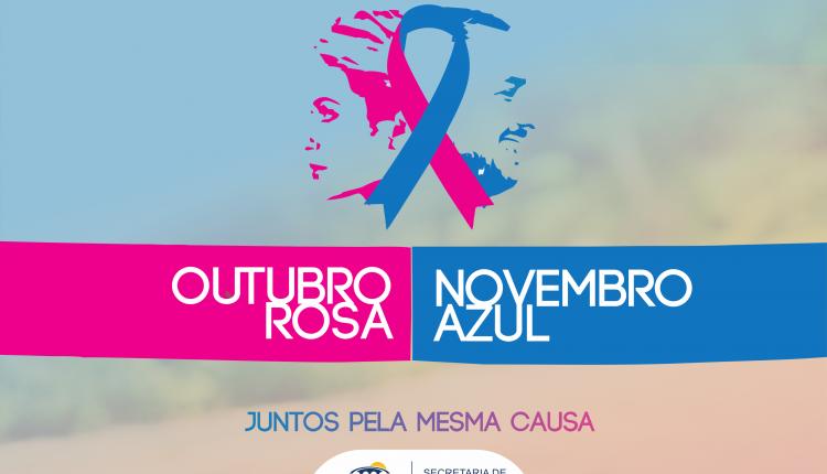 Secretaria de Saúde realiza Campanha contra o Câncer de Mama e de Próstata