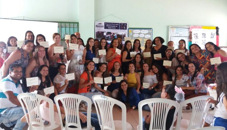 Seminário de Experiências do Pacto Estadual pela Alfabetização na Idade Certa acontece em Ibiassucê