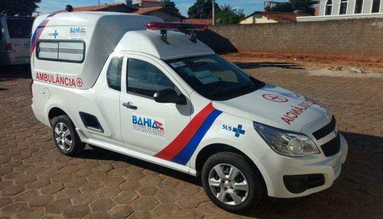 Ibiassucê recebe do Governo do Estado uma nova ambulância