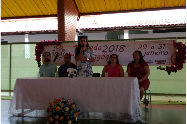 SECRETARIA DE EDUCAÇÃO REALIZA JORNADA PEDAGÓGICA 2018