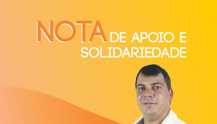 NOTA: Prefeitura manifesta apoio e solidariedade ao vice-prefeito Nando Cardoso