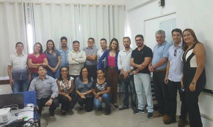 Representantes da Secretaria do Meio Ambiente de Ibiassucê participam de formação em Caetité-Ba