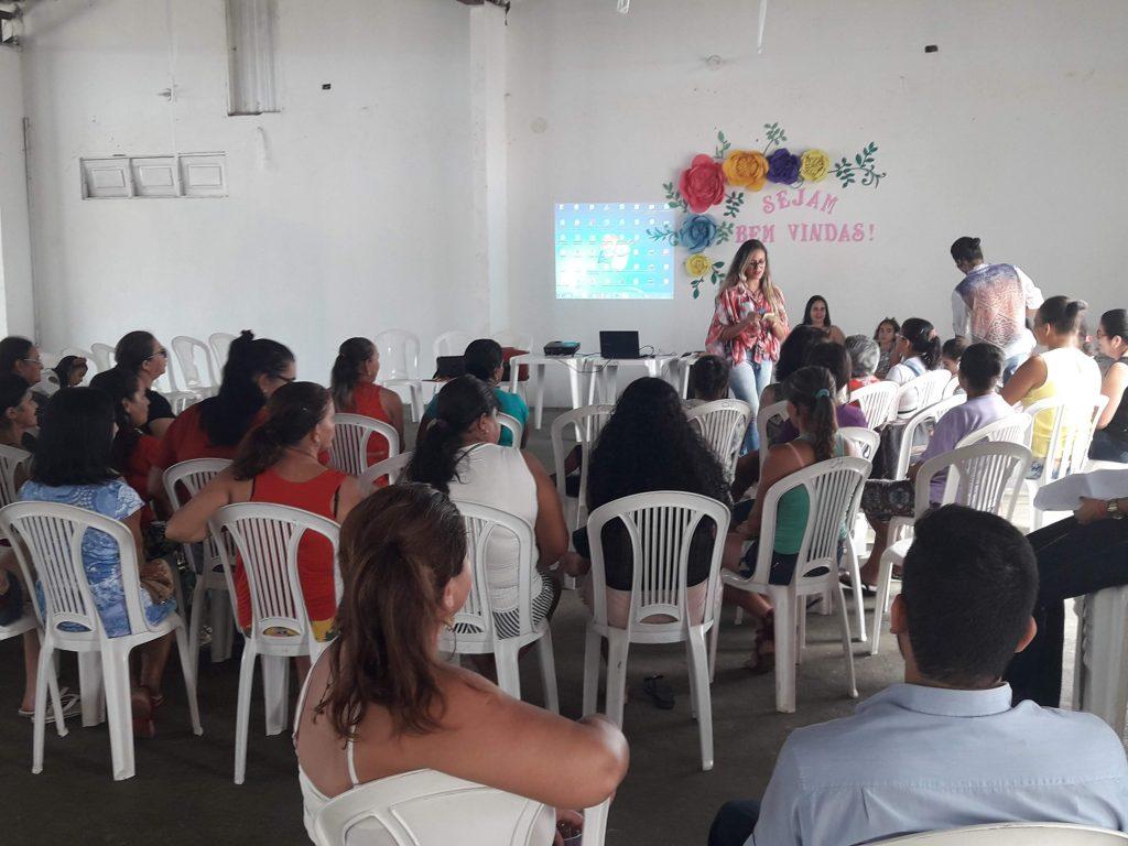 Cras faz Abertura das  oficinas dos grupos do Serviço de Convivência e Fortalecimento de Vínculos