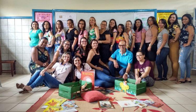 Secretaria Municipal de Educação de Ibiassucê Realiza 1ª Formação para professores do Ciclo de Alfabetização 2019