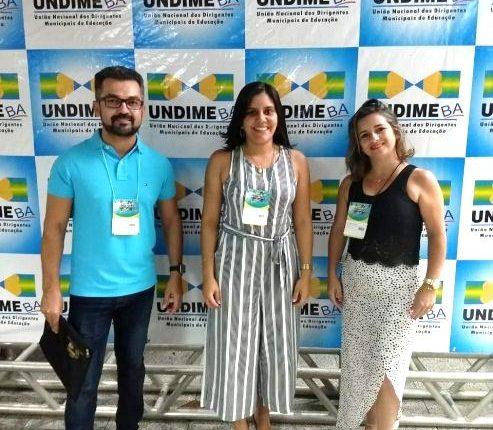 EDUCAÇÃO DE IBIASSUCÊ PARTICIPA DO FÓRUM ESTADUAL DA  UNDIME-BA 2019 EM SALVADOR