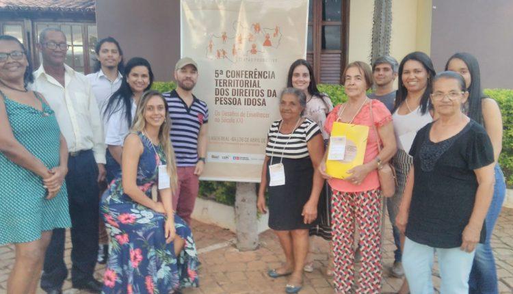 Comitiva de Ibiassucê participou da 5ª Conferencia Territorial dos Direitos da Pessoa Idoso em Lagoa Real