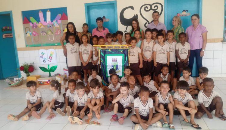 Projeto itinerante de Leitura, cultural e conhecimento é levado para as escolas do município de Ibiassucê, pela Secretaria de Educação, Cultura, Esporte e Lazer