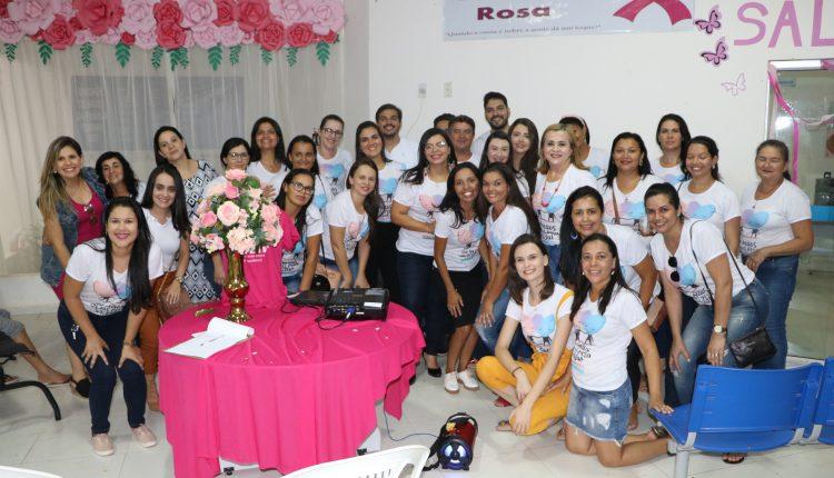 Secretaria de Saúde de Ibiassucê encerra Outubro Rosa com grande evento