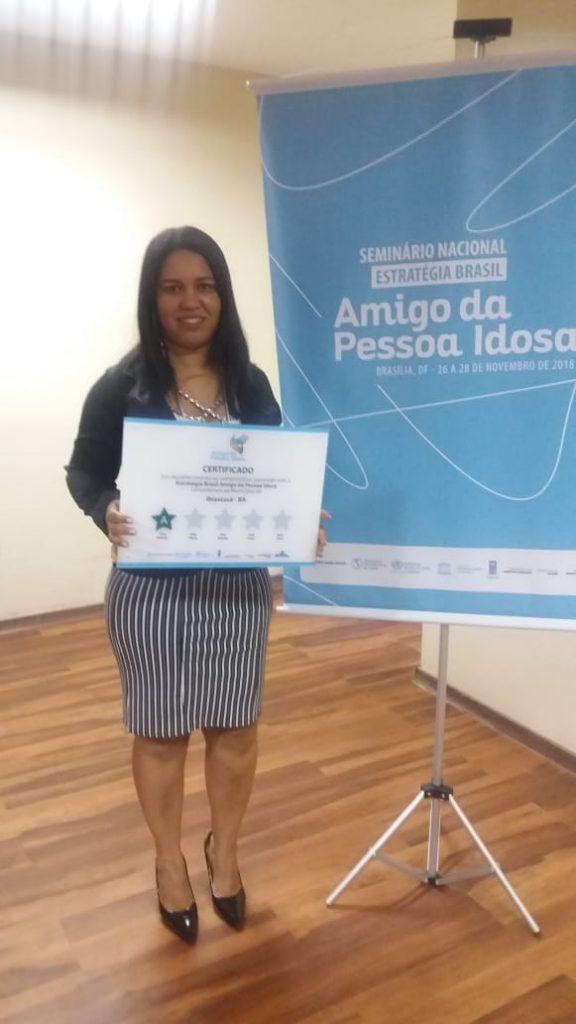 SEMINÁRIO NACIONAL ESTRATÉGIA BRASIL Amigo da Pessoa Idosa BRASÍLIA, DF -26 A 28 DE NOVEMBRO DE 2018
